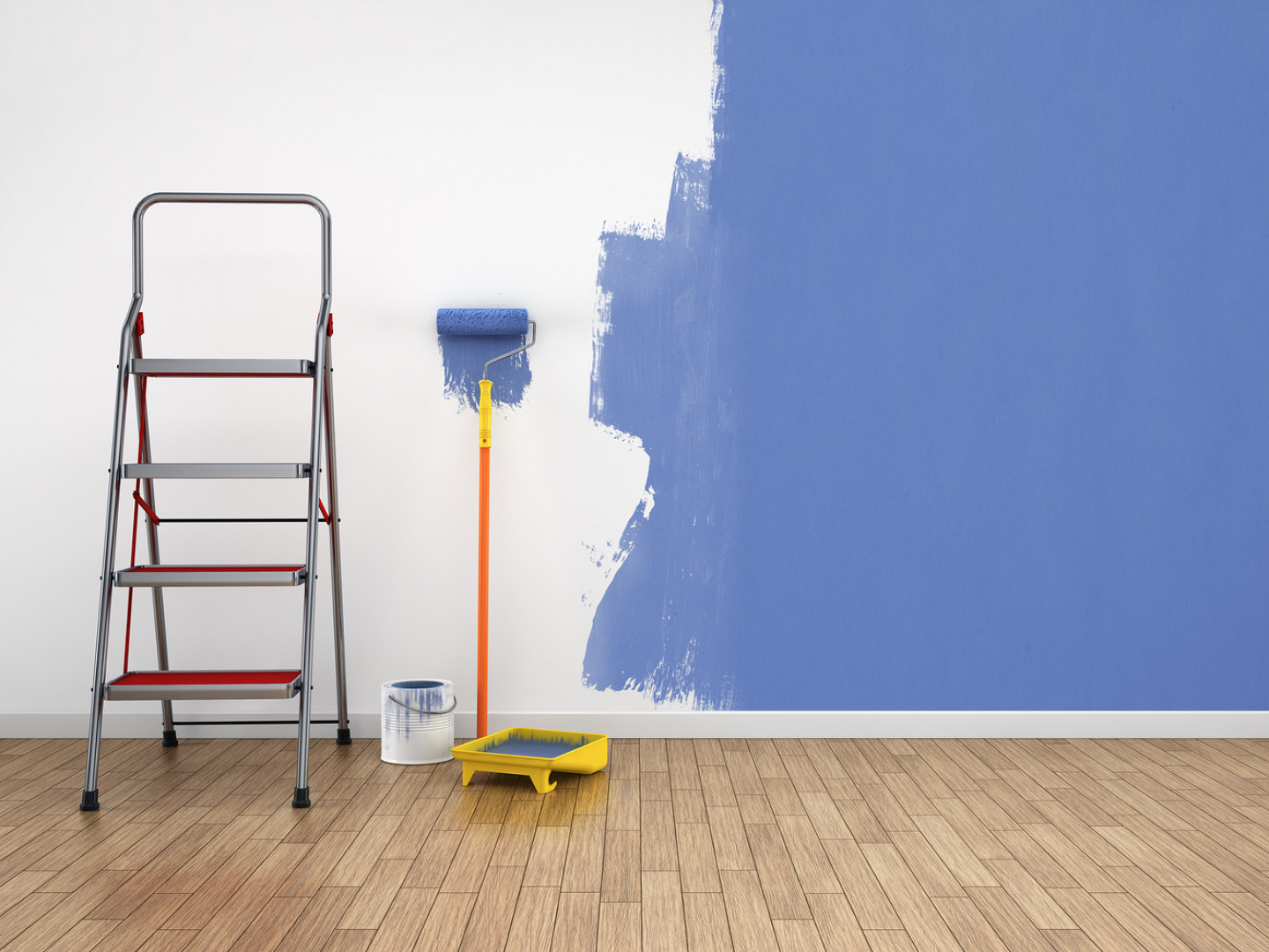 Paint Your Home Before Move-In Day
